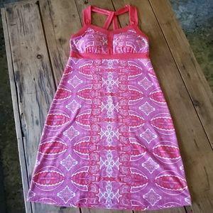 Dakini athletic dress w/ built in bra Sz Medium